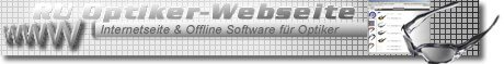 software Augenoptiker website